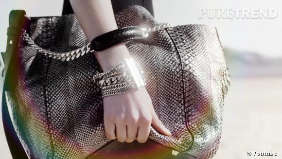 Nicole Kidman et le sac en python Anna de Jimmy Choo.