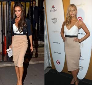 Victoria Beckham vs la bombe Marloes Horst : la robe Victoria Beckham