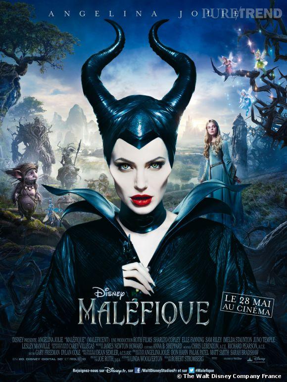 """Découvrez l'affiche officielle de """"Maléfique"""", en salles le 28 mai 2014."""