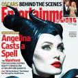 Angelina Jolie a aussi fait la couverture d'Entertainment Weekly avec son personnage de Maléfique.