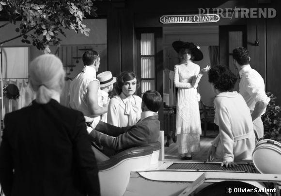 """""""Once Upon a Time..."""" le court-métrage signé Karl Lagerfeld avec Keira Knightley dans le rôle de Coco Chanel."""