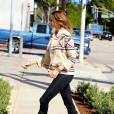 Stacy Keibler à Los Angeles le 3 avril 2014.