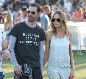 Michael Polish et Kate Bosworth à Coachella en 2013.