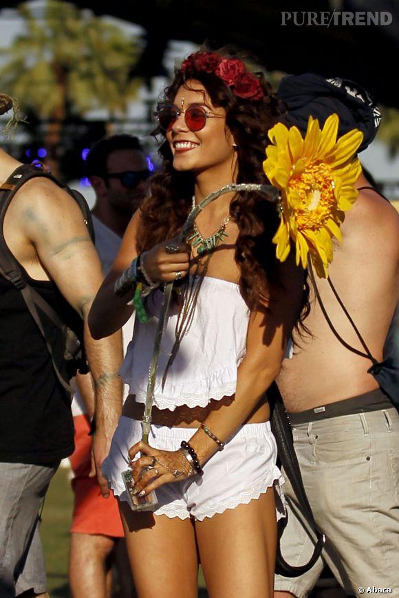 Vaness Hudgens à Coachella en 2013.