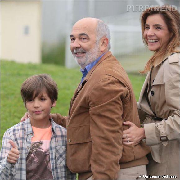 Dans son dernier film Babysitting, Clotilde est la femme de Gérard Jugnot!
