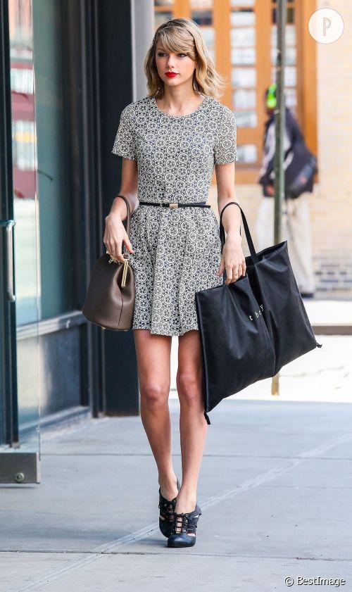 Taylor Swift très sexy à New York, on copie !