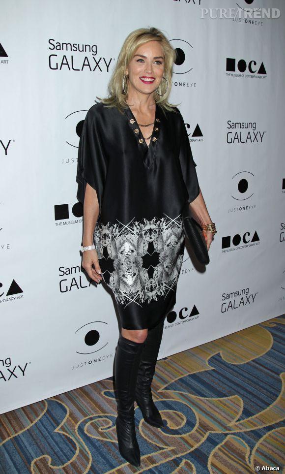 Sharon Stone a 56 ans en 2014.