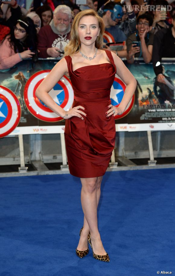 Scarlett Johansson a 29 ans en 2014.