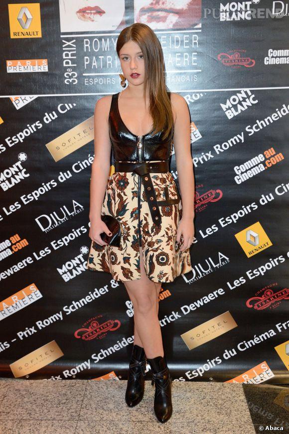 Adèle Exarchopoulos a 20 ans en 2014.