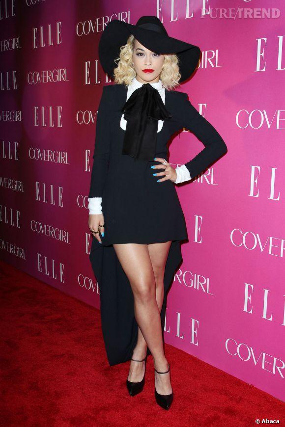 Rita Ora a 23 ans en 2014.