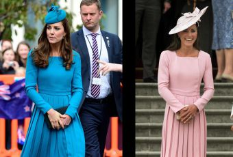 Kate Middleton, le match de look : la robe Emilia Wickstead
