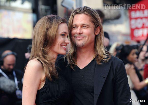 Angelina Jolie et Brad Pitt en juin 2013.