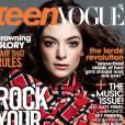 En mai 2014, Lorde fera la couverture du magazine Teen Vogue US. Pendant l'interview, la chanteuse confie qu'elle s'habille souvent comme un mec.