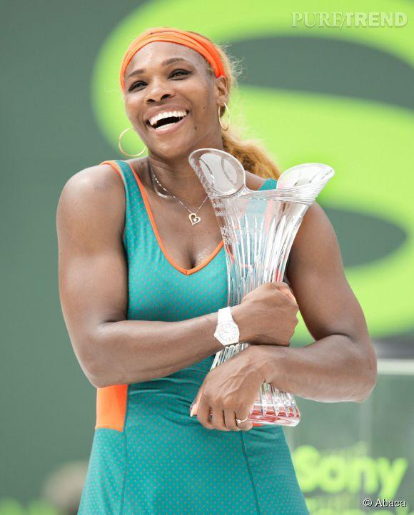 Normal, Serena Williams est une championne. Elle a remporté pour la 7ème fois le tournoi de l'Omnium Sonny le 29 mars 2014.