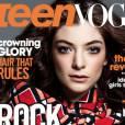 La couverture du numéro de mai 2014 de Teen Vogue US, avec la chanteuse Lorde en couverture.