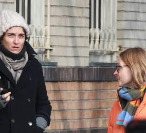 Jodie Foster et Alexandra Hedison en janvier 2014.