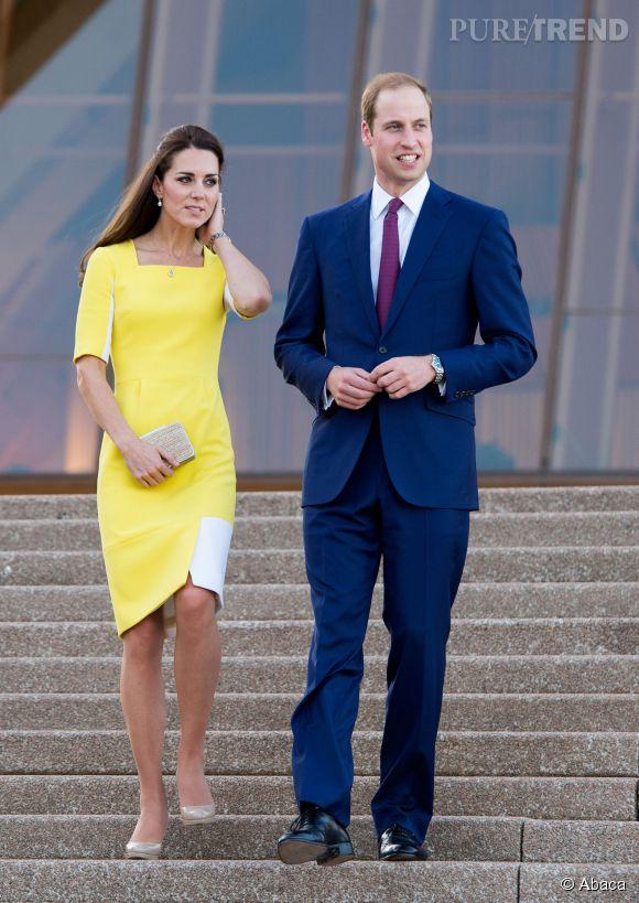 Kate middleton et sa robe jaune
