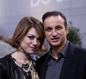 Emilie Dequenne et son compagnon Michel Ferracci lors des MEagritte du cinéma le 1er février 2014.