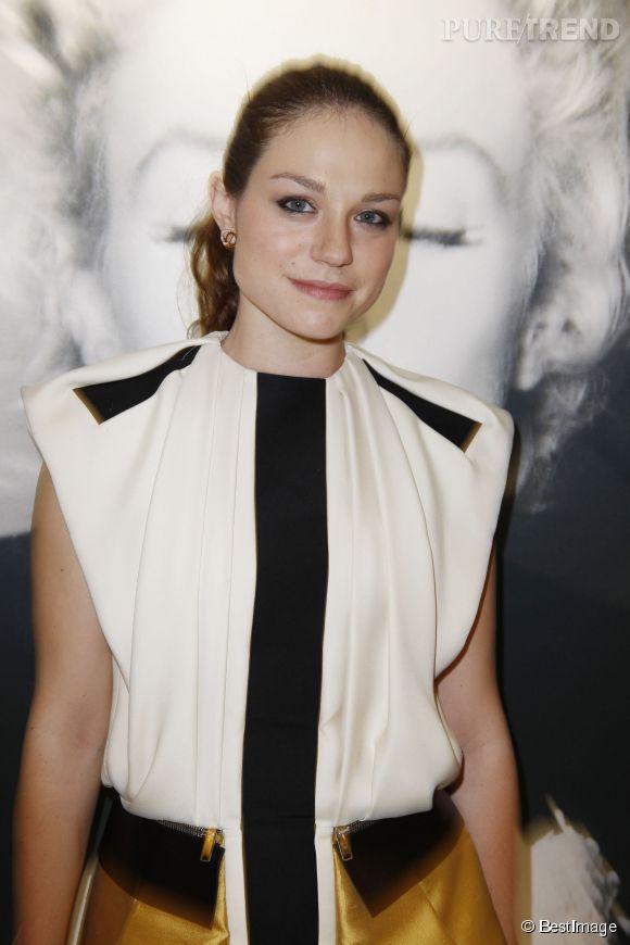 Emilie Dequenne à la soirée de côture d'Un certain regard au Festival de Cannes en mai 2012.