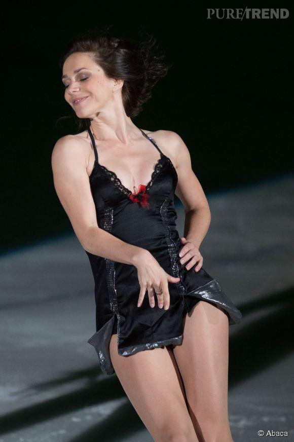 Nathalie Péchalat, la plus sexy des retraitées.