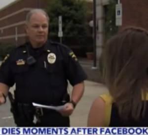 """Une conductrice de 32 ans a trouvé la mort dans un accident de voiture alors qu'elle était en train d'écrire sur Facebook que """"La chanson Happy me rend HAPPY''."""