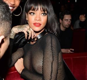Rihanna : seins nus, bas résille... 20 looks sexy et indécents