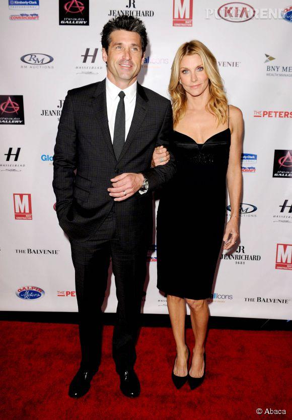 """""""Grey's Anatomy"""" : Patrick Dempsey et sa femme, avec qui il a enfants."""