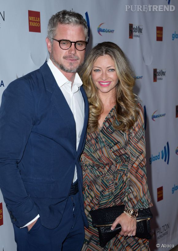 """Grey's Anatomy"" : Eric Dane et sa femme, l'actrice Rebecca Gayheart."