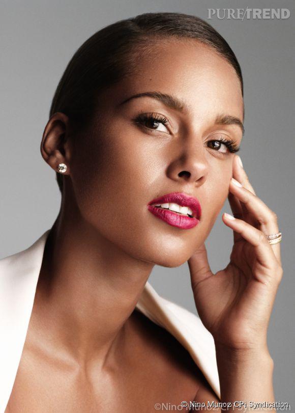 Alicia Keys est la nouvelle égérie des parfums Givenchy.