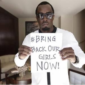 P Diddy, Sean Combs de son vrai nom, se mobilise avec le hashtag #BringBackOurGirls.
