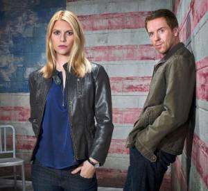 """Damian Lewis et Claire Danes dans """"Homeland"""" saison 3."""