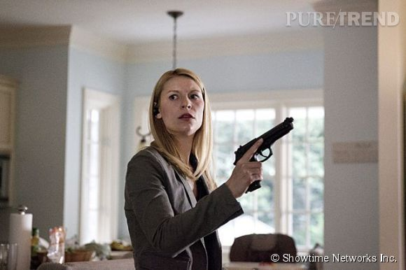 """Claire Danes dans """"Homeland"""" saison 3."""