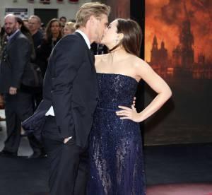 Elizabeth Olsen : baiser fougueux à la première de Godzilla à Londres