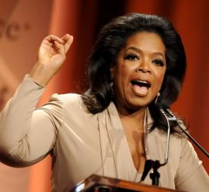 Oprah Winfrey, l'animatrice la plus connue des États-Unis.