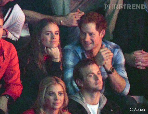 Cressida Bonas et le Prince Harry en 2014.