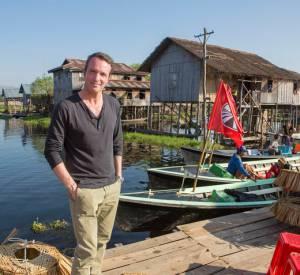 """Stéphane Rotenberg, le présentateur de """"Pékin Express""""."""