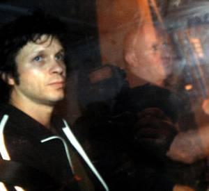 Bertrant Cantat à sa sortie de prison en 2007, 4 ans après avoir tué Marie Trintignant.