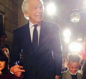 Le fils d'Alicia Keys, Egypt, a défilé pour Ralph Lauren à New-York, lundi 19 mai 2014.