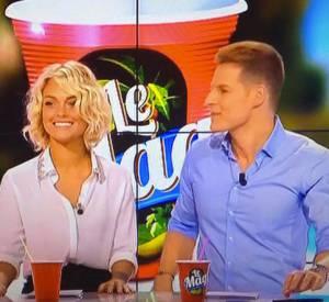 Matthieu Delormeau et Caroline Receveur animent chaque soir l'émission Les Anges de la télé-réalité sur NRJ 12.