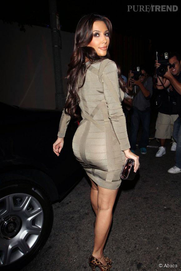 """""""Avec cette robe j'ai l'impression d'avoir le c*l de Kim Kardashian """". Une invitée en soirée VIP."""