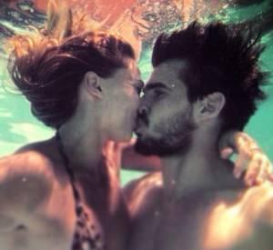 Tatiana Golovin postait ce cliché d'elle et de son nouvel amoureux, Hugo Bonneval le 6 avril 2014.