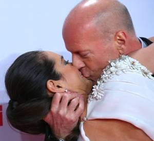 Bruce Willis et Emma Heming parents comblés avec leur petite dernière, Evelyn.