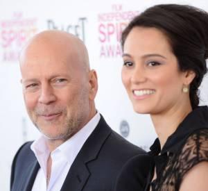 Bruce Willis et Emma Heming sont heureux de présenter au monde entier leur petite Evelyn, née début mai 2014.