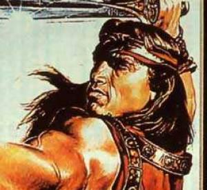 """Arnold Schwarzenegger dans """"Kalidor""""... Kitsch."""