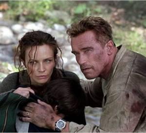 "Arnold Schwarzenegger dans ""Dommage Collatéral"", film sorti en 2002."