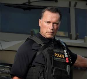 """Arnold Schwarzenegger dans """"Sabotage"""", un retour raté."""