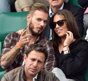 Matt Pokora, en charmante compagnie dans les gradins de Roland Garros 2014