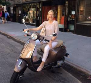 L'actrice de Gossip Girl, Kelly Rutherford, et ses mocassins Gommino signés Tod's.