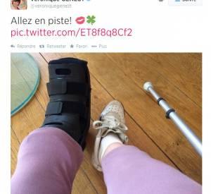 Et a même accompagné son tweet d'une photo.