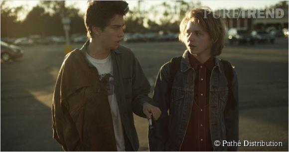 """Jack Kilmer et Nat Wolff dans """"Palo Alto""""."""
